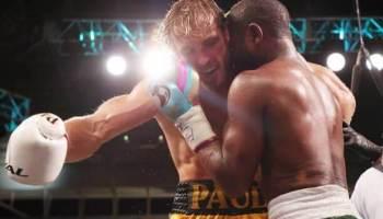 Floyd Mayweather knocks out Logan Paul