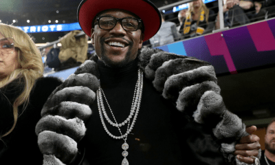 Floyd Mayweather Partying after Logan Paul fight