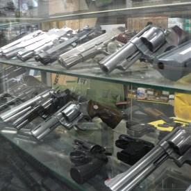 Oh yeah, we got pistols…