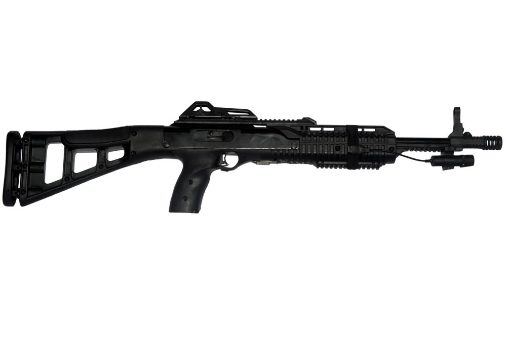 medium resolution of hi point 995ts 9mm carbine with las 9 laser