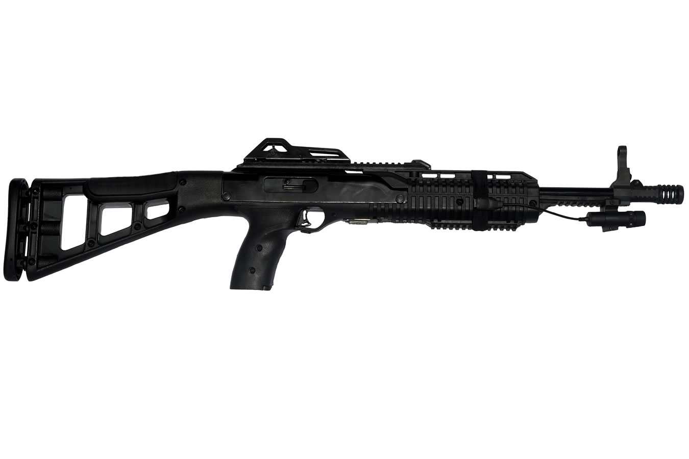 hight resolution of hi point 995ts 9mm carbine with las 9 laser