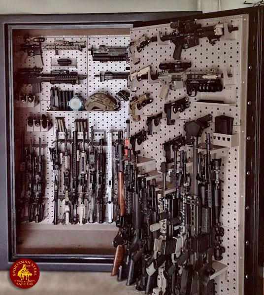 Gun Safe Options  Interiors by Sportsman Steel Safes