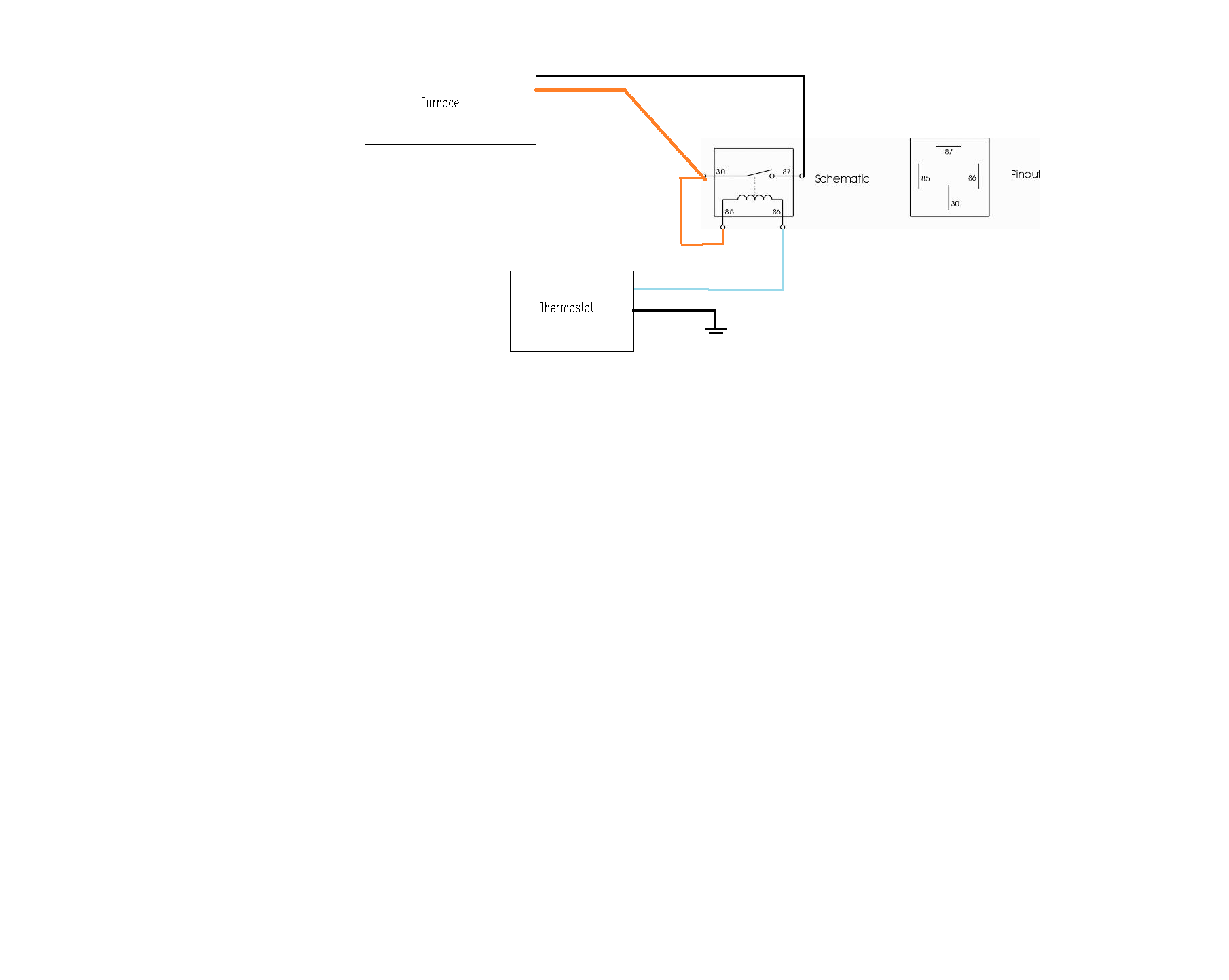 hight resolution of this is how i wired in a standard bosch type relay