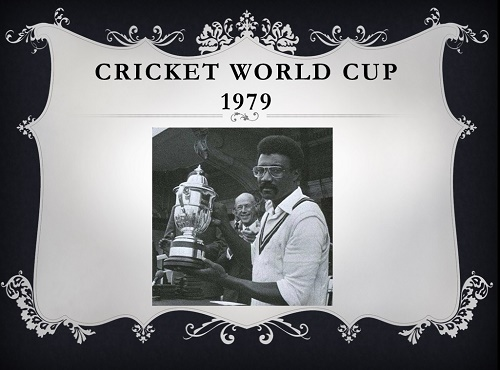 Image result for 1979 Cricket World Cup
