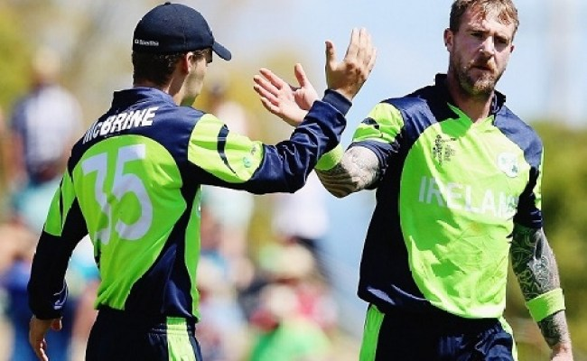 Ireland Stuns West Indies To Win World Cup Match By 4