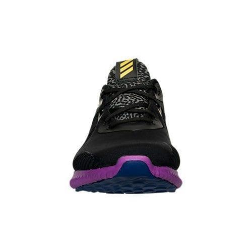 adidas alphabounce black gold purple 3