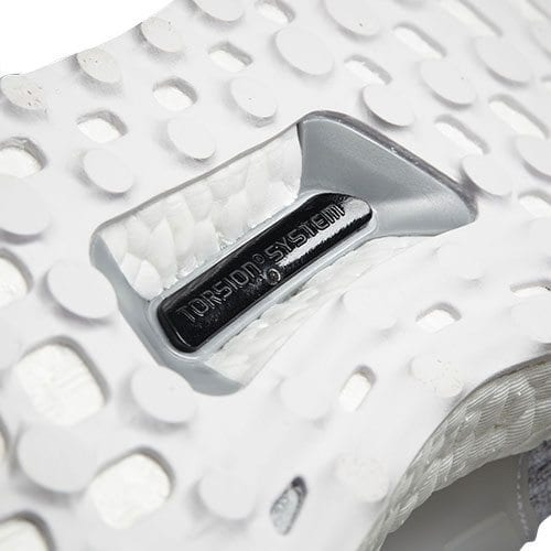 Adidas Ultraboost Triple White Torsion