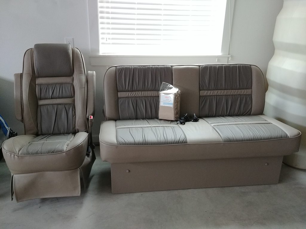 van sofa bed seat shenandoah furniture conversion leather seats bench sportsmobile forum