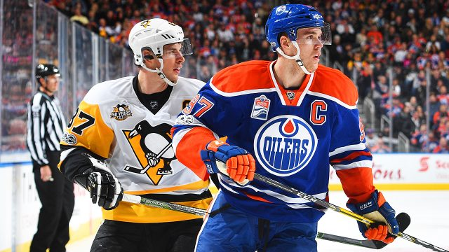 crosby sidney mcdavid connor 640x360 - Facing stacked odds, Talbot's debut with Flames deserved better fate