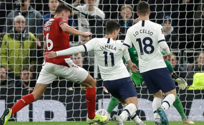 Tottenham Newcastle Advance From Fa Cup Replays