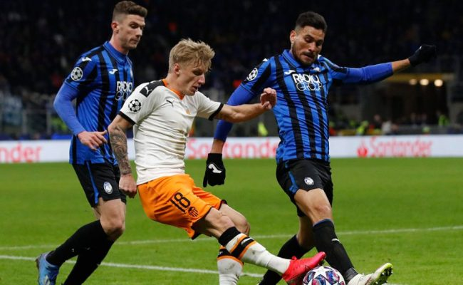 Valencia Atalanta Champions League Match To Be Played In