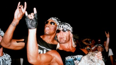 Remember When? Dennis Rodman teams with Hulk Hogan in WCW - Sportsnet.ca