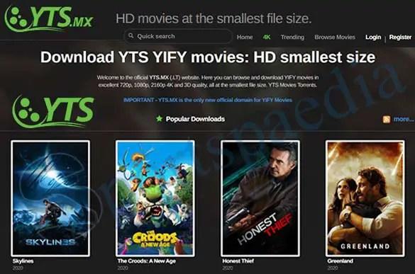 YTS - Download Free YIFY Movies   YTS.com