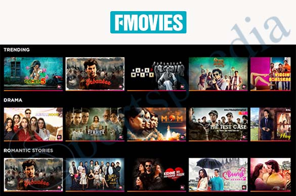 FMovies - illegal HD Movies Streaming Website