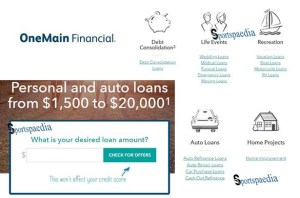 Apply for a Personal Loan - Online Loans | OneMain Financial