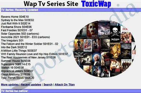 Wap Tv Series Site www.toxicwap.com