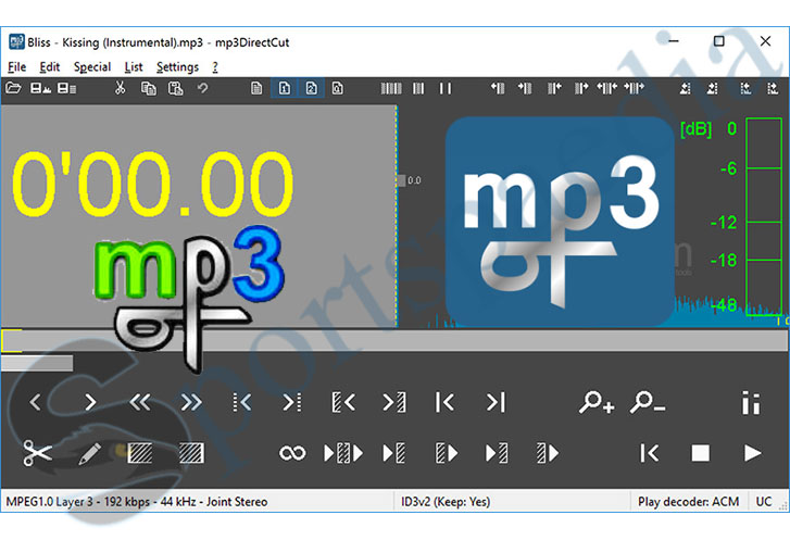 Mp3directcut - Cut MP3 and AAC in Windows - Mp3 Direct Cut Download