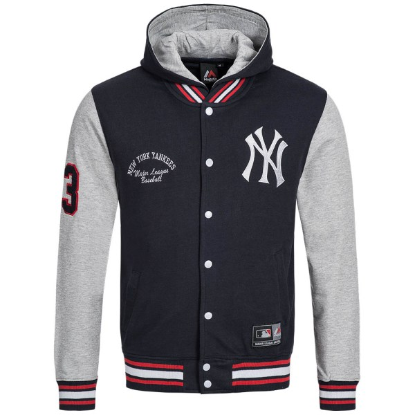Majestic Baseball Jackets Yankees