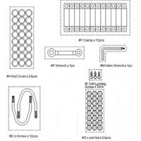 Hardware Kit for the BOUNCE PRO 15' Model TR1806-FLEX-ENC