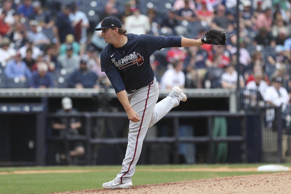 Which prospect will debut first for Braves in 2020?