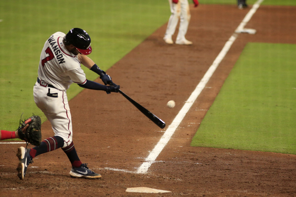 dansby swanson sep 23 2020