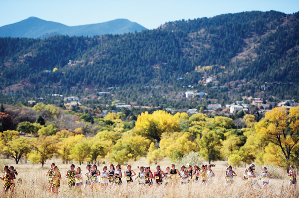 State Cross Country Championships in Colorado 2014 - Girls Class 4A