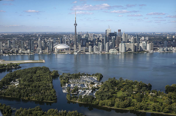 Toronto, Canada, will serve as the primary host city for the 2015 Pan American Games, with events spread out across the province of Ontario. Photo courtesy of David Cooper/Getty Images
