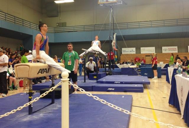 Gymnastics action