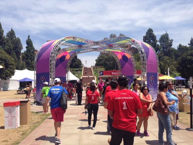 UCLA arch