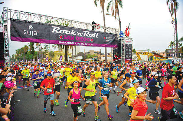 The Rock 'n' Roll Marathon Series continues to be one of the most popular race series in the country. But organizers of the event say they are constantly working to enhance the racing experience. Photo courtesy of Competitor Group