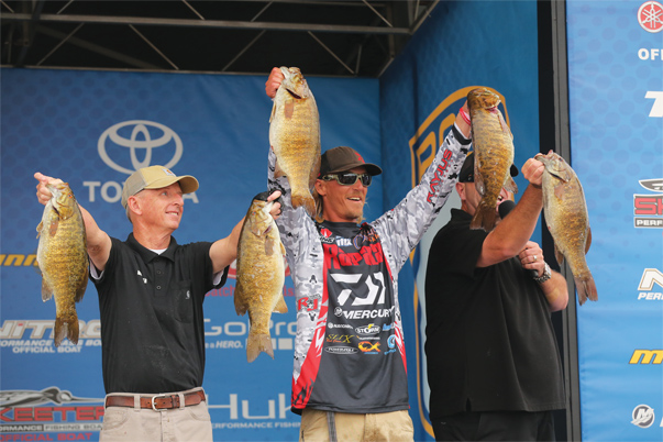 B.A.S.S., based in Birmingham, Alabama, is one of the oldest and largest bass fishing organizations in the country, hosting events at all levels from high school competitions to professional circuits. Photo courtesy of B.A.S.S.