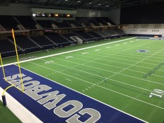The Ford Center at The Star has indoor seating for up to 12,000 people as well as two outdoor fields.
