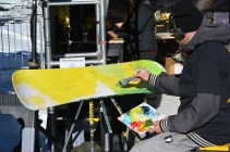 The Mountain Dew Experience fan festival featured art, music and photo opportunities with athletes.