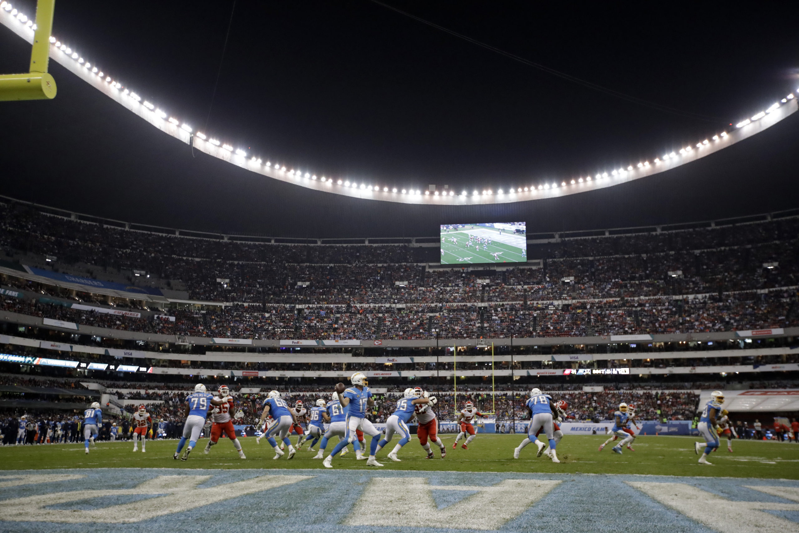 Mexico Chiefs Chargers Football