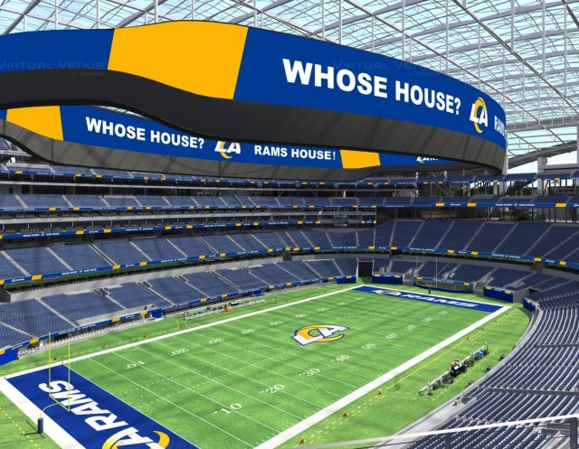 Los Angeles Rams Update Logo Ahead Of Sofi Stadium Debut Sportstravel