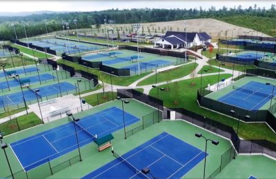 Rome Tennis Center Finishes Upgrades
