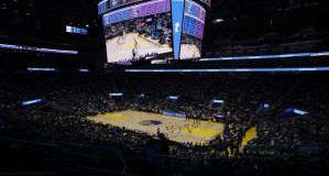 Lakers Warriors Basketball