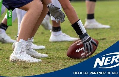 Nerf Becomes Official Ball of NFL Flag