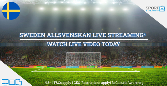 Swedish Allsvenskan football live streaming online free video (Watch Sweden soccer)