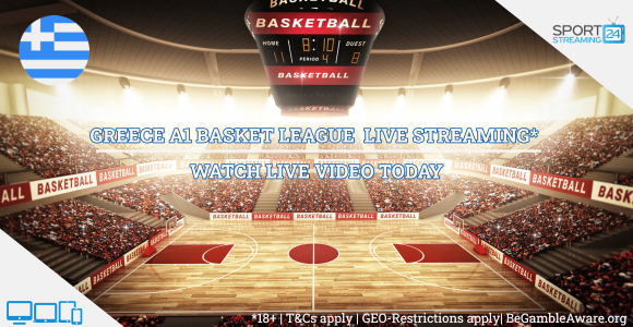Greece A1 Basket League Live Streaming basketball online video
