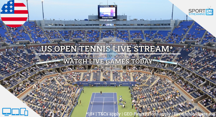 US Open Live Streaming tennis tv online video free