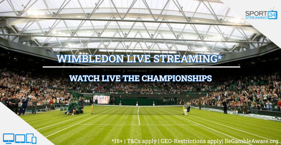 Wimbledon Live Streaming tennis online video free