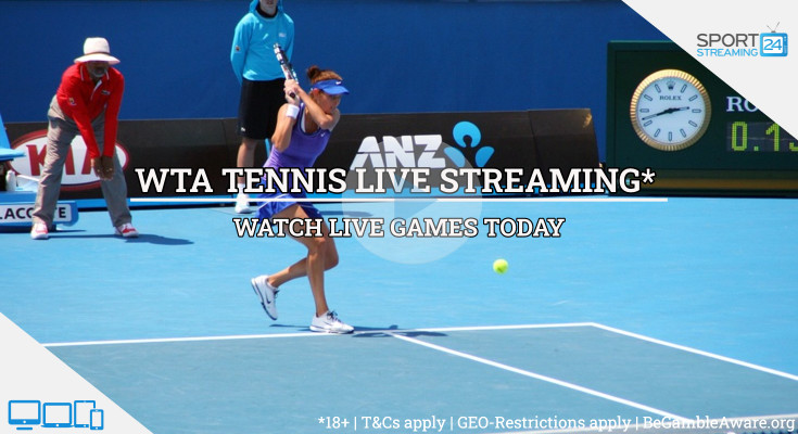 WTA  Live Streaming tennis tv online video free