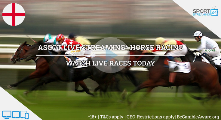 ASCOT Races Live Streaming horse racing today online tv video