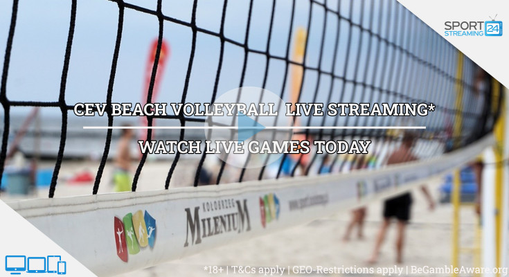 CEV Baden Masters  beach volleyball live stream video online free