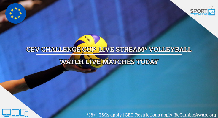 CEV Challenge Cup live stream volleyball video online free
