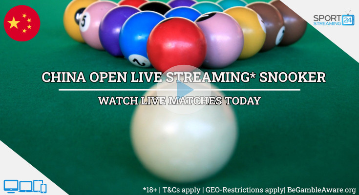 China Open live snooker stream video online free tv games