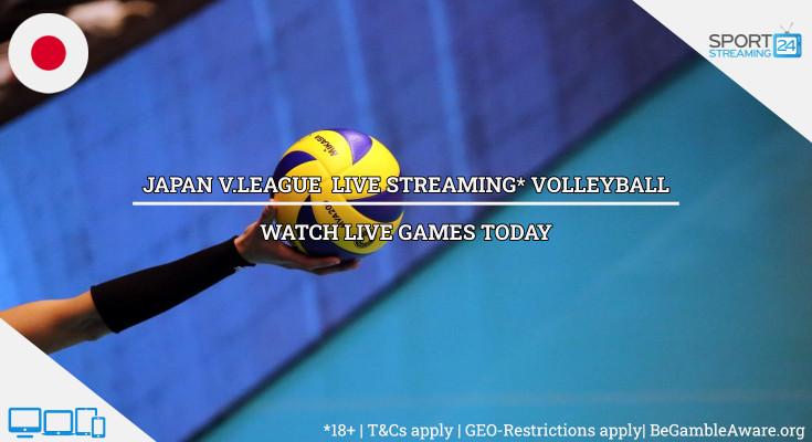Japan V Premier Volleyball Live Stream Online Tv Sportstreaming24
