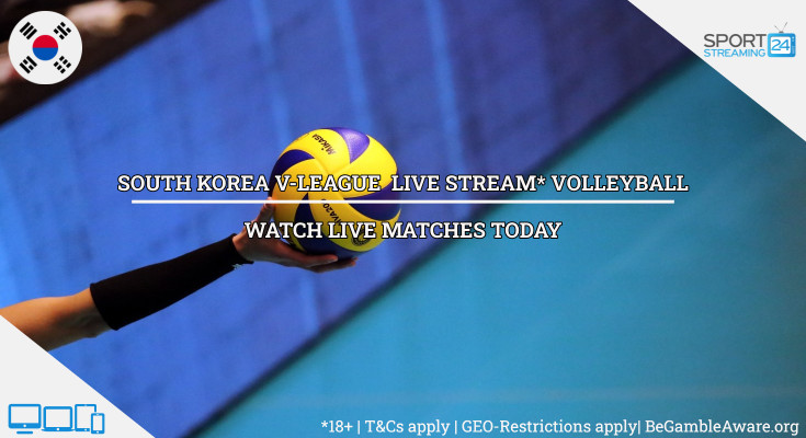 Korea KOVO live volleyball stream video online free