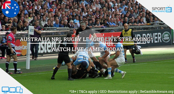 NRL Rugby live streaming video online tv watch free